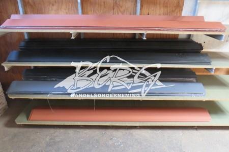 Dakpanplaten matte coating div. kleuren