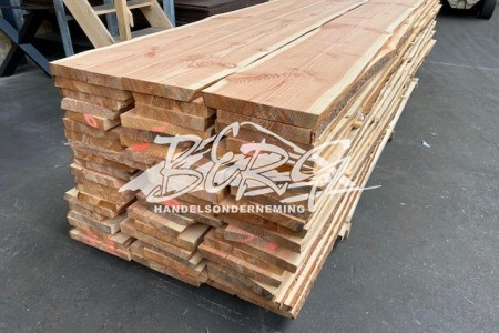 Douglas wandplanken tot 400mm breed